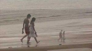 Monsuuni Goan rannalla