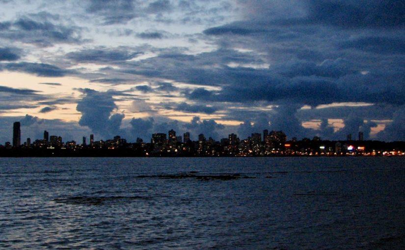 Mumbain kaupungin valot
