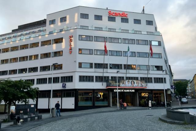Hotelli Scandic St. Olavs Plass Oslo Norja