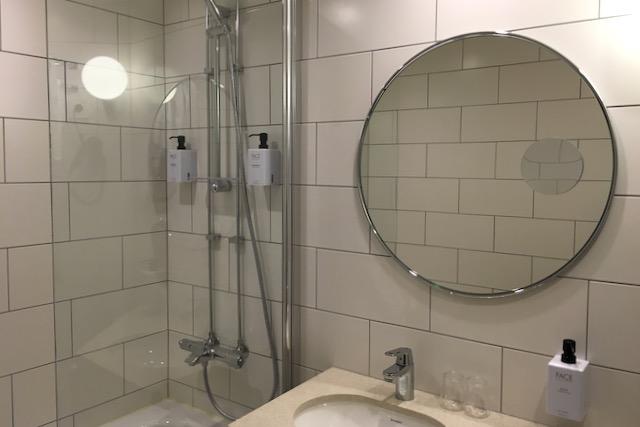 Hotelli Scandic St. Olavs Plass kylpyhuone