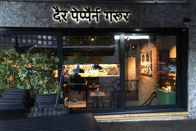 Intialainen ravintola Der Peppern Gror, Oslo