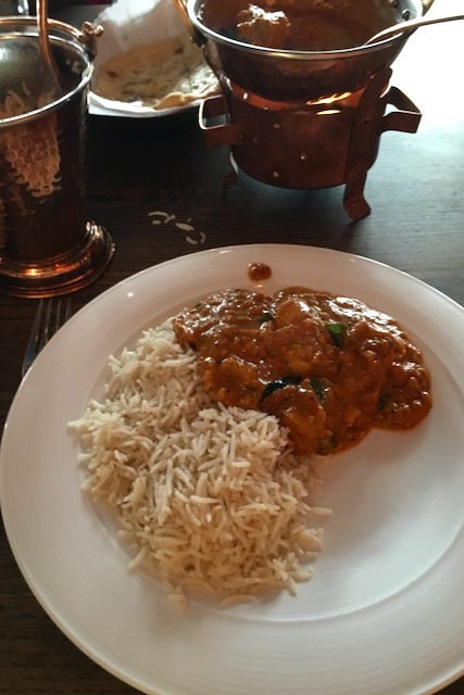 Intialainen ravintola-ateria Mr. India Oslo