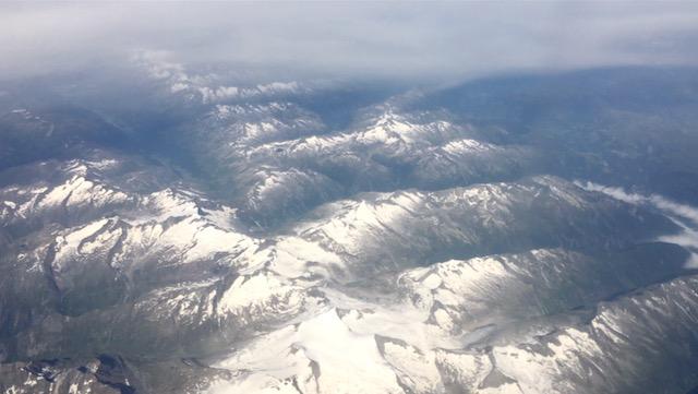 Vuoristoa Euroopassa, matkalla Roomaan