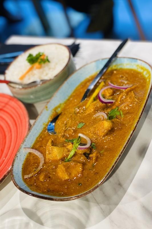 Chicken Masala ravintola The South Indian, Helsinki
