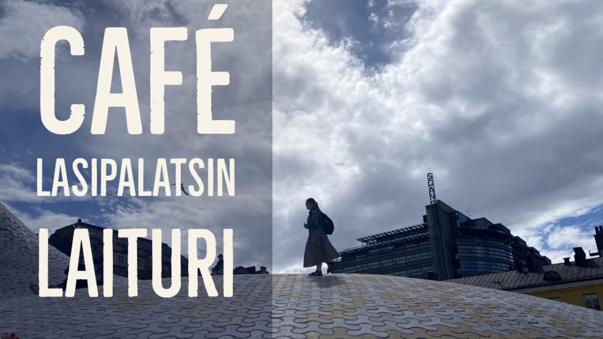 Videon kansikuva Café Lasipalatsin laiturilta