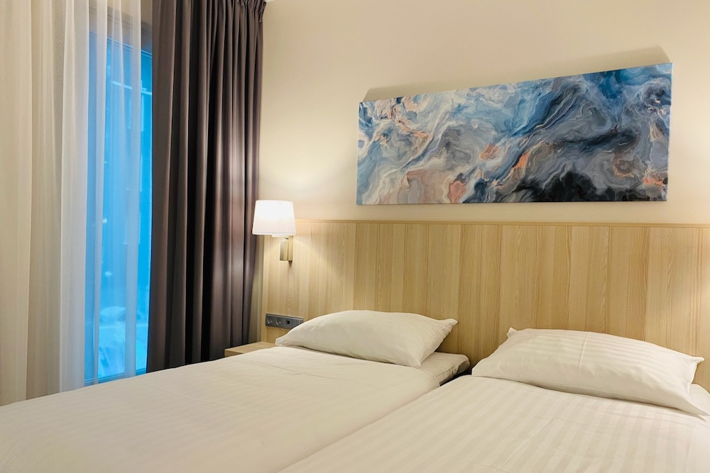 Tallink Spa & Conference hotellihuone ja -vuode