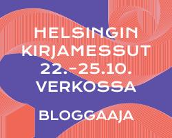 Kirjamessut 2020 bloggaaja