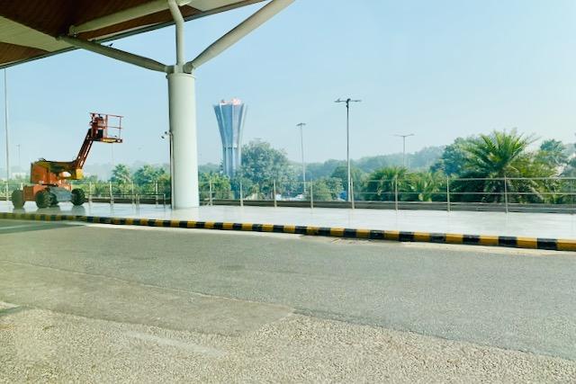 Delhin lentokentän edustaa