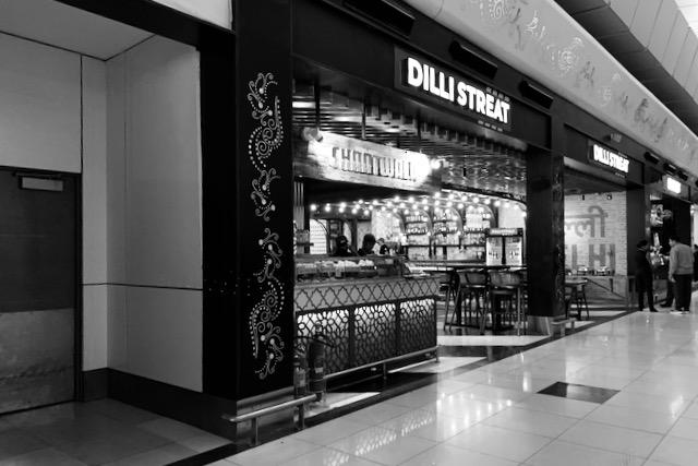 Dilli Streat -ravintola Delhin lentokentällä