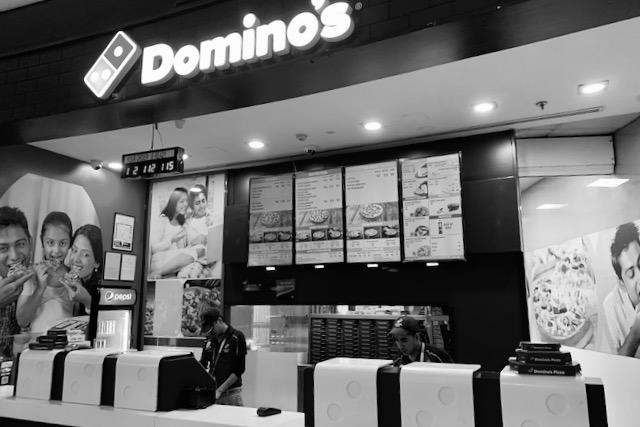 Domino'sin lentokenttäravintola Delhissä