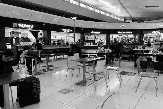 Ravintoloita Delhin kansainvälisellä lentokentällä