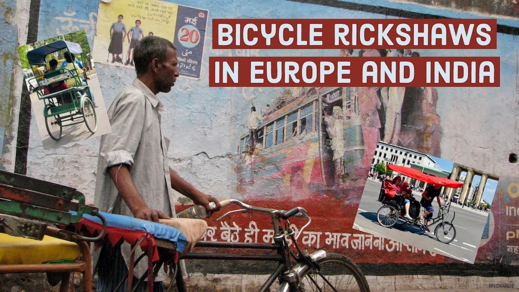 Polkupyöräriksa Intiassa ja Euroopassa