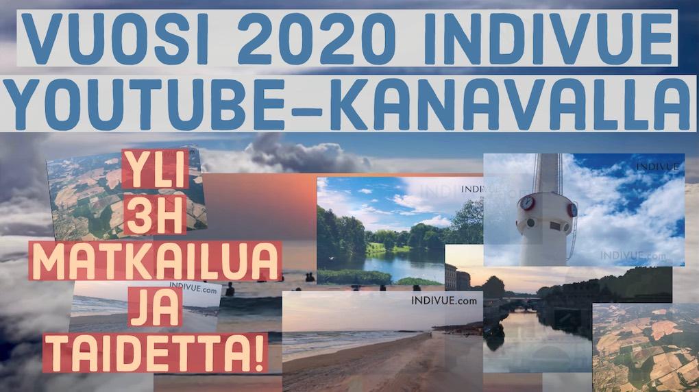 Indivue YouTubessa vuonna 2020