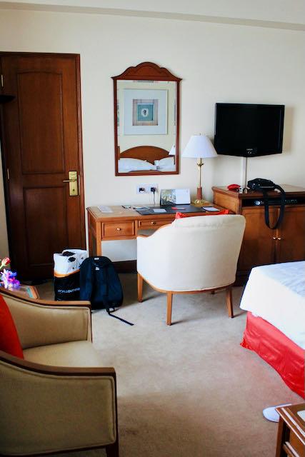 Hotelli Oberoi Trident sviitti makuuhuone