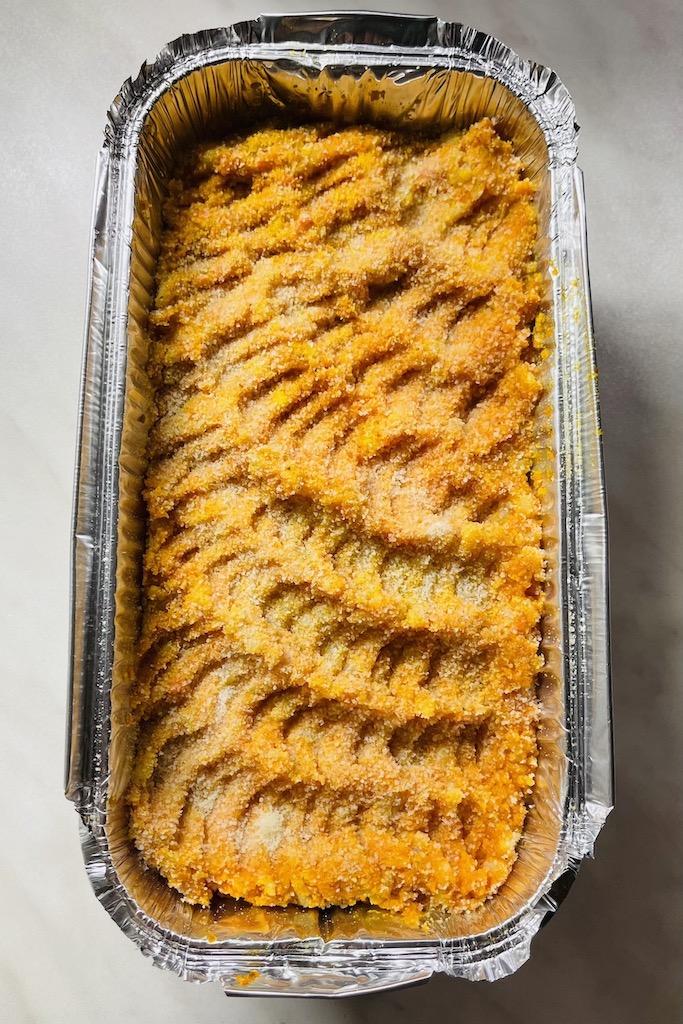 Vegaani porkkanalaatikko