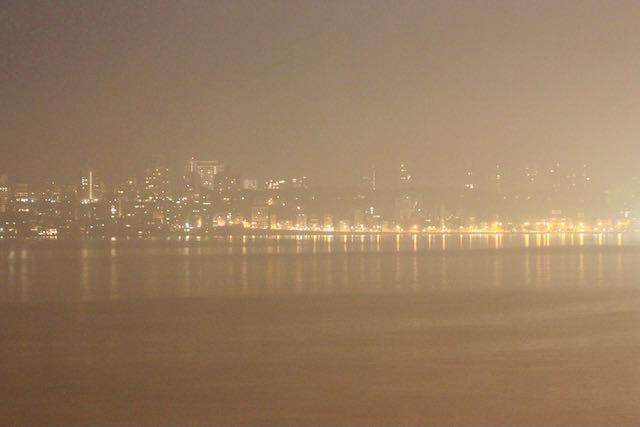 Mumbai ja kaupungin valot