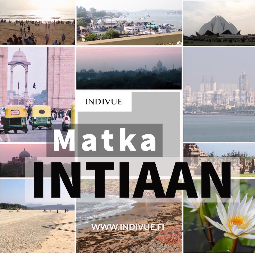 INDIVUE - Matka Intiaan teoksen kansikuva