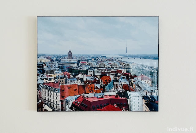 Näkymä Pyhän Pietarin kirkon tornista Riiassa
